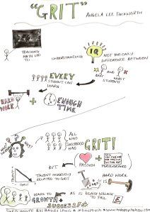 Grit: The power of passion and perseverance. Taken from TED talk by Angela Lee Duckworth.