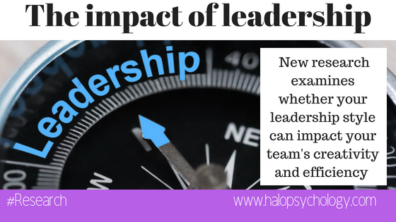 Your leadership style might be impacting your team's
